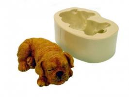 Molde de Silicone Cachorro Dormindo