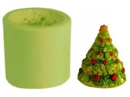 Molde de Silicone  Árvore de Natal Pequena