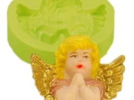 Molde de Silicone Anjo Busto