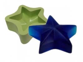 Molde de Silicone Estrela do Céu