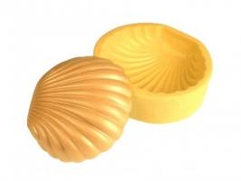Molde de Silicone Concha Shell