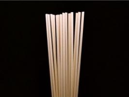 Varetas de Fibra Nude 25 cm(Pacote c/10 unidades)