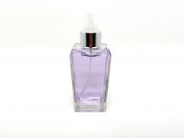 Vidro Spray Square Transparente 250 ml