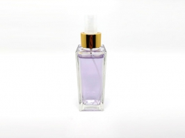 Vidro Spray Square Transparente 150 ml