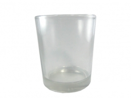 Copo de Vidro p/Vela 70 ml(Transparente)
